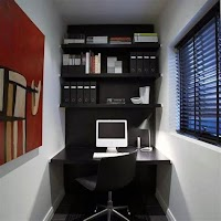 Small House With Home Office Design