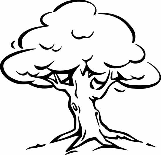 Png Clipart Clip Art Tree Black And White