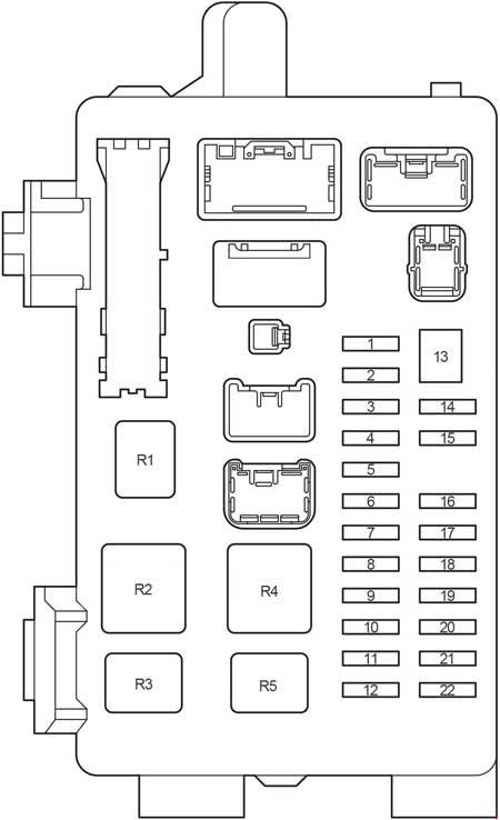 2008 Mercury Milan Fuse Box Diagram