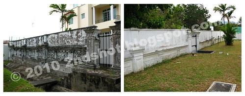 Original Fence Wall, Elliot Walk
