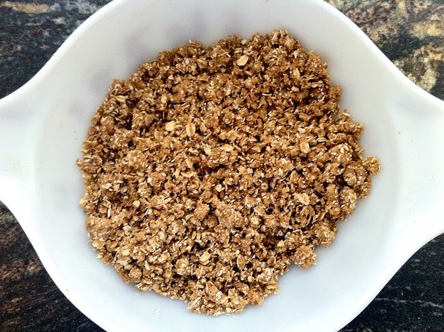 Butter Combined into Crumble