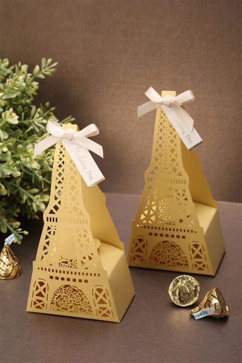 Wholesale 10PCs Classic Eiffel Tower Shaped Wedding Candy