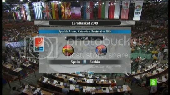 Final España vs. Serbia 2009