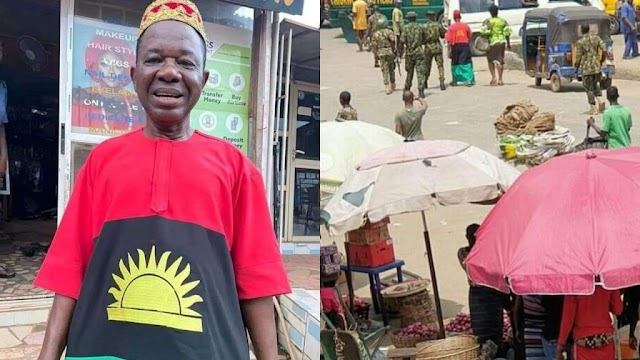 IPOB: It's Not Biafra Clothing – Chiwetalu Agu Convinces Soldiers After Arrest [Video]