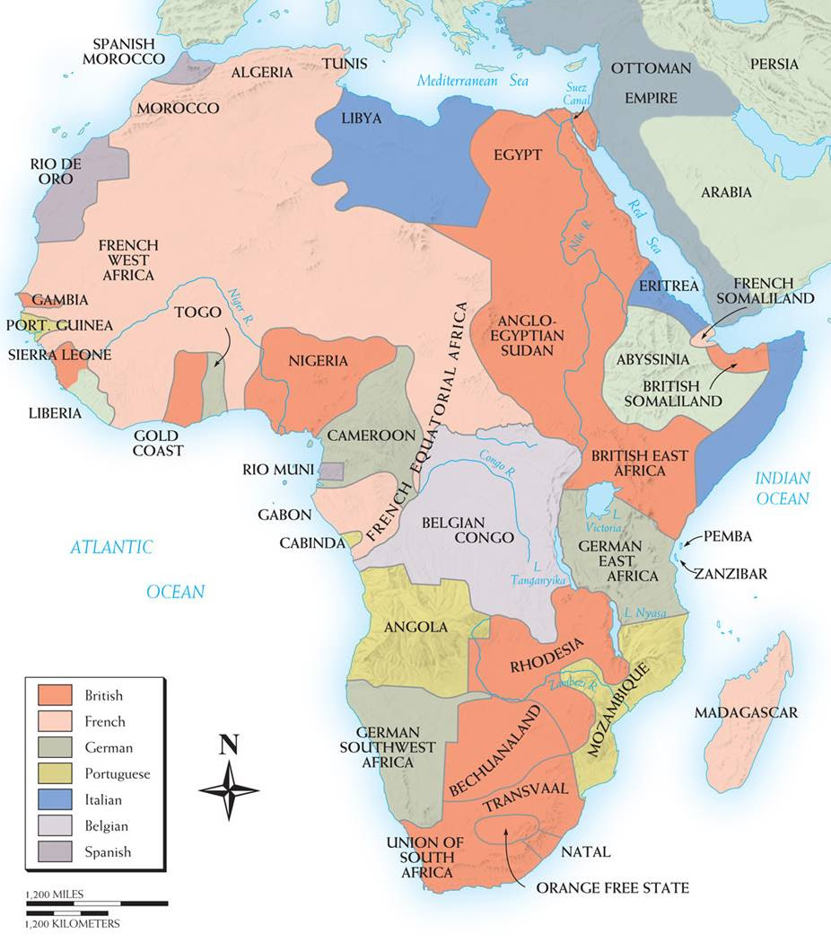 map of africa 1880 1914 Jungle Maps Map Of Africa In 1880 map of africa 1880 1914