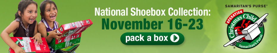 National Collection Week is November 16-23