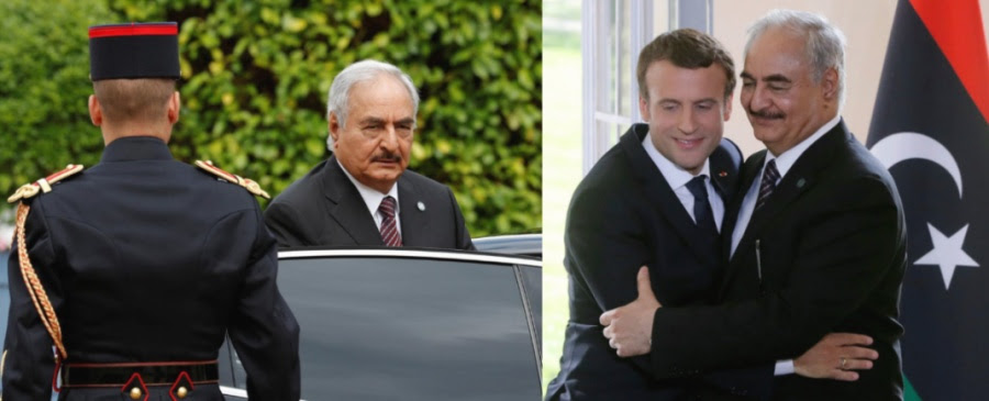 Λιβύη: Το Παρίσι υπεραμύνεται της στάσης του υπέρ του στρατάρχη Haftar