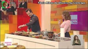 Tania Ribas Oliveira sensual na Rtp