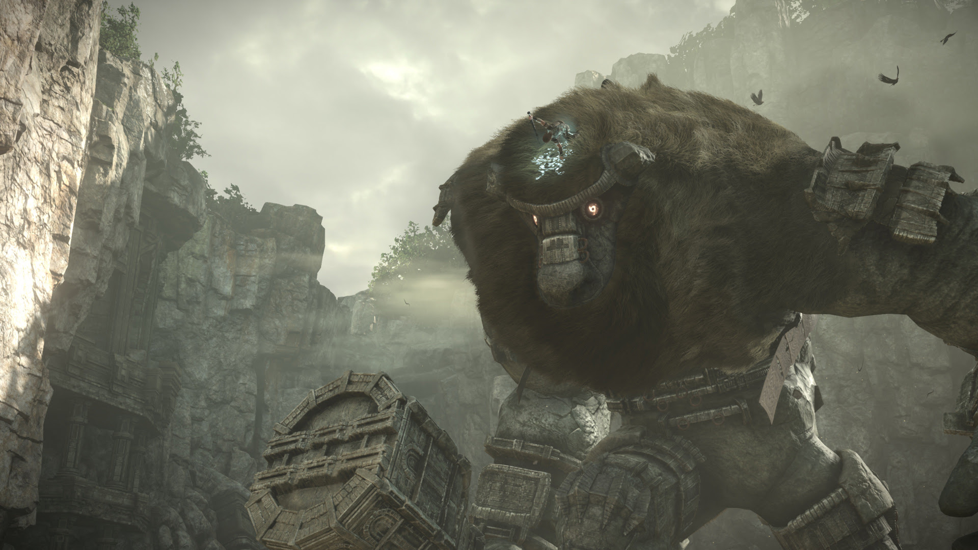 Fumito Ueda offered 'content and tuning' suggestions for the Shadow of the Colossus remake screenshot