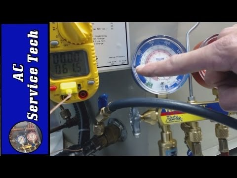 How to Check the Refrigerant Charge on a System Without a TXV that has a Piston/Orifice or Capillary Metering Device in front of the Evaporator Coil.