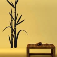 decorative wall decal Bamboo wall decals