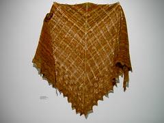 Jacqui's beautiful shawl