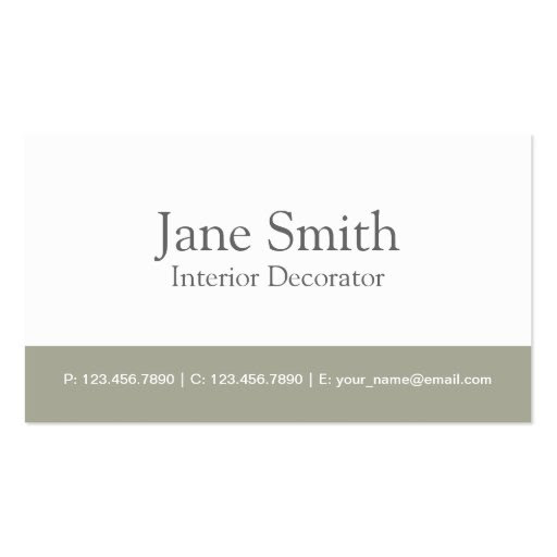 Interior Design Business Cards, 18,000+ Interior Design Business