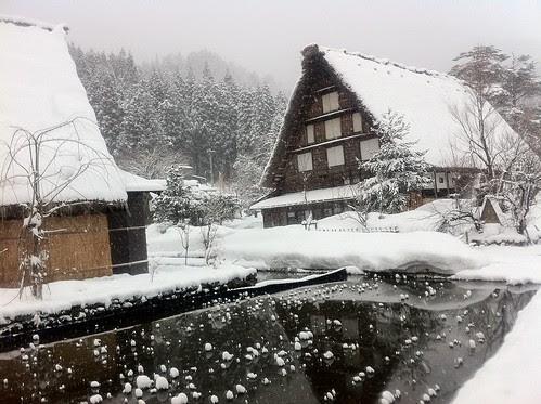 Shirakawa-go in the morning 2