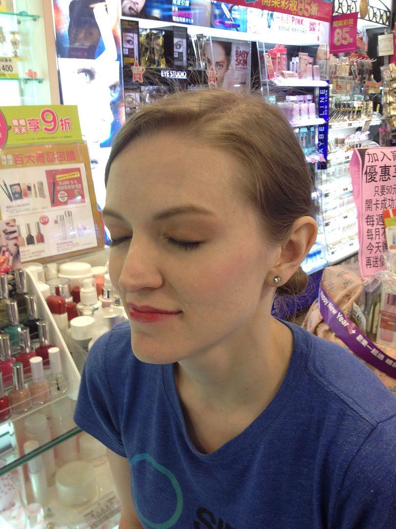 Makeup at Watson's in Kaohsiung
