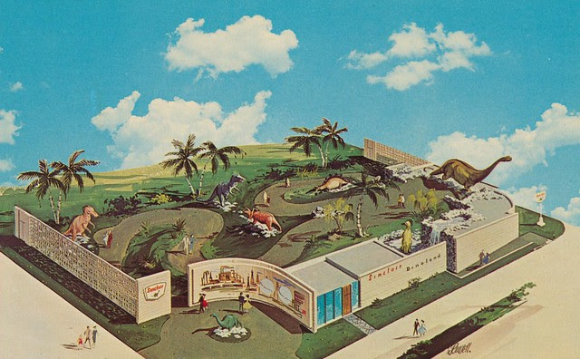 Sinclair Dinoland - New York World's Fair 1964-1965