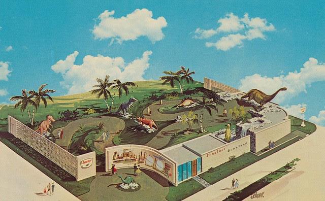 Sinclair Dinoland - New York World's Fair 1964-1965