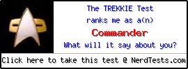 NerdTests.com User Test: The Trekkie Test.