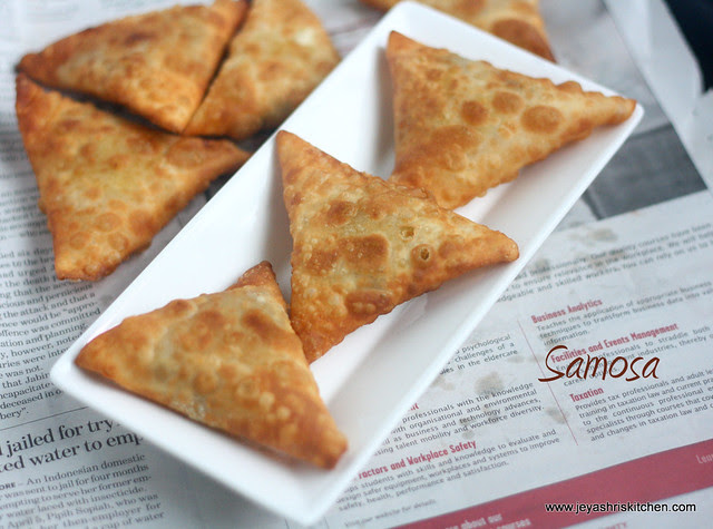 Triangle Samosa