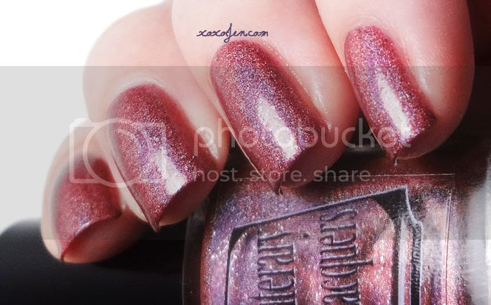 xoxoJen's swatch of Literary Lacquers Catherine