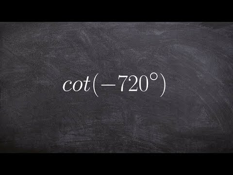 Pre-Calculus - How to use the unit circle to evaluate for ...