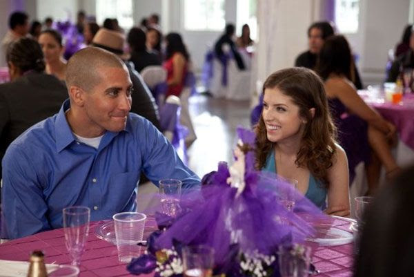 Jake Gyllenhaal and Anna Kendrick in END OF WATCH.