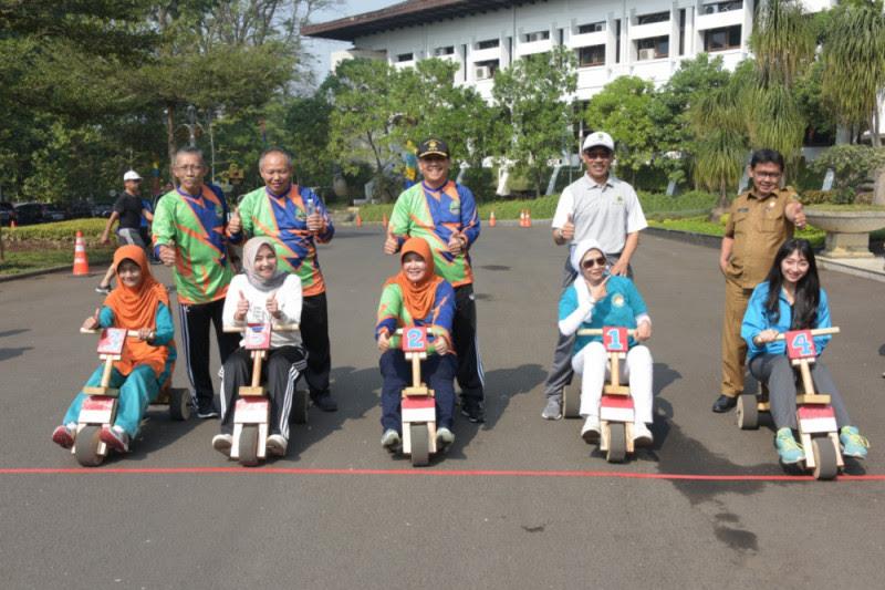 Hut Ke 73 Provinsi Jawa Barat Hadirkan Festival Permainan Tradisional Kilas Bandung News