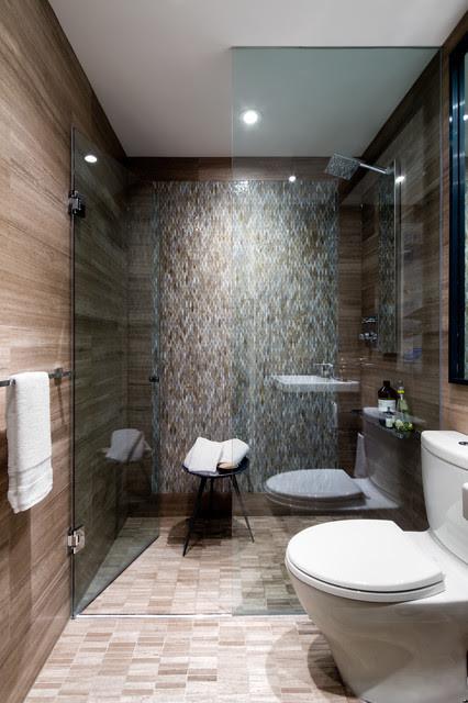 Downtown Toronto Condo Contemporary Bathroom Other by Toronto Interior Design Group - Jane Lockhart Interior Design Transitional Living Room Toronto By JaneLockhart Interior