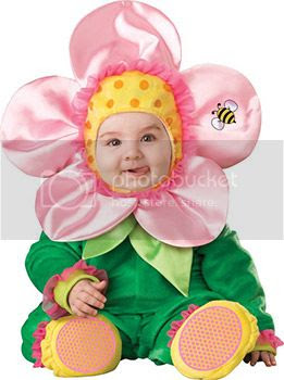 infant flower costume