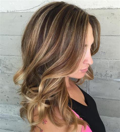 light brown hair color ideas  highlights  lowlights