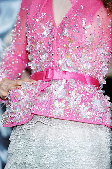 Christian Dior Spring 2010 Haute Couture Details