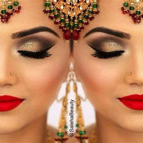 Best 20  Bollywood Makeup ideas on Pinterest   Indian