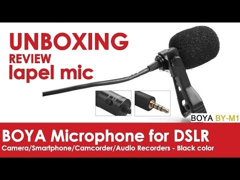 Unboxing and Review of Boya Mic
