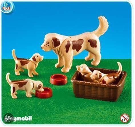 bol.com   7366 Hond met 4 puppies,PLAYMOBIL