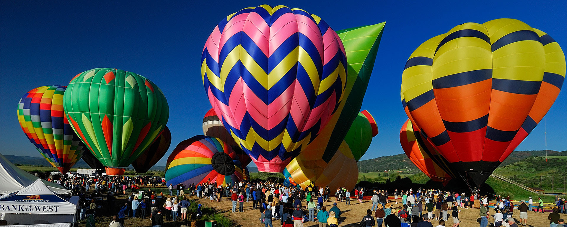 Steamboat Springs Colorado Hot Air Balloon Rodeo July 13 14 2019