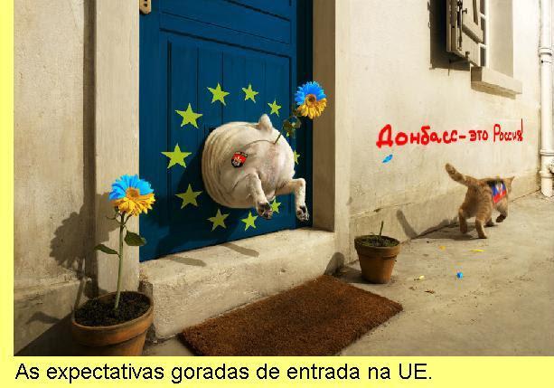 As expectativas goradas de entrada na UE.
