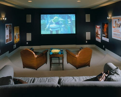 Choosing the Perfect Media Room Paint Colors - Home Decor Help