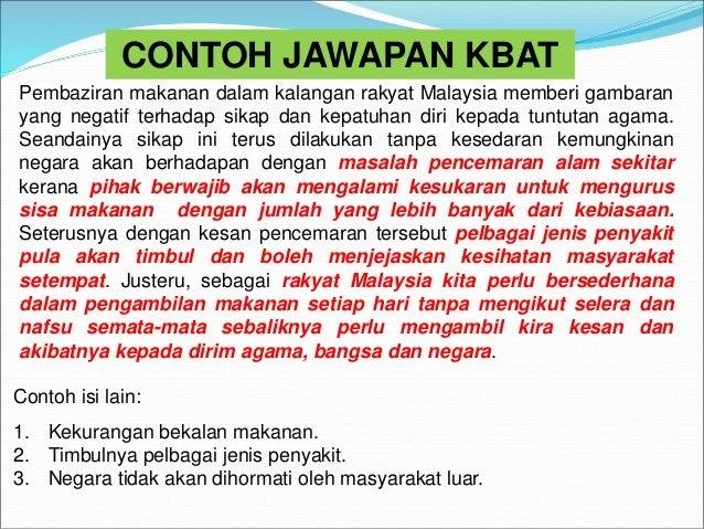 Contoh Soalan Kbat Pendidikan Islam Spm Selangor I