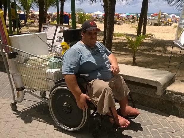 Leonardo Cohen conta que já se submeteu a mais de 100 cirurgias (Foto: Acervo Pessoal/ Edosn Campos)