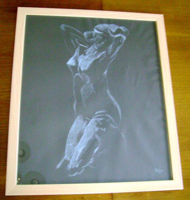 """""""Faunesa de Joelhos"""" de Rodin 60x50cm - 65Euros"""