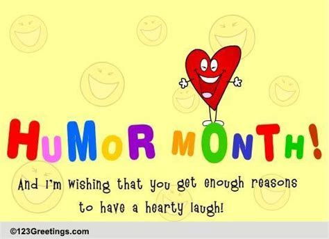 Hearty Laugh  Free Humor Month eCards, Greeting Cards