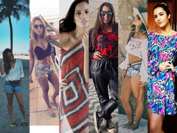 Conheça seis filhas de famosos que chamam a atenção pela beleza Reprodução/Instagram/