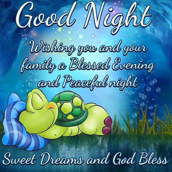 Good Night Sweet Dreams And God Bless Pictures Photos And Images