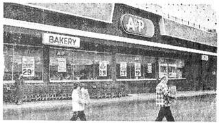 A&P Westmont N.J. 1982