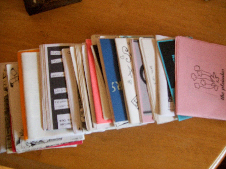 30 mini zine zine pack