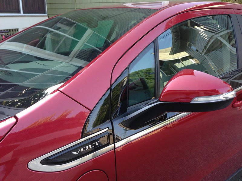 Chevy Volt Side Window