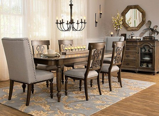 2018 Casual dining room furniture; extra comfort and classy look  dining room furniture