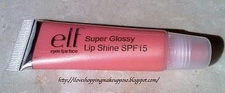 Lipstick e Gloss E.l.f.
