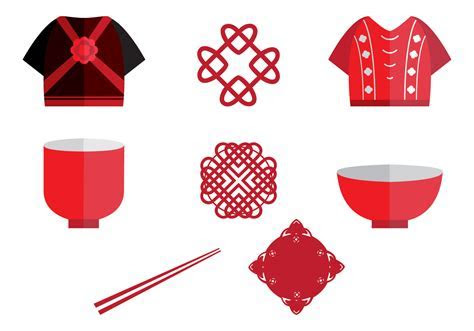 Chinese Wedding Icon Element   Download Free Vector Art