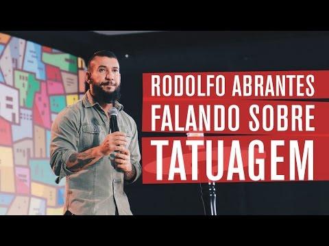 Rodolfo Abrantes Falando Sobre Tatuagens